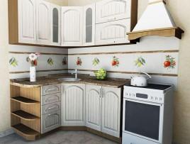 Типовые варианты кухонь